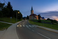 Road illumination of place Sveta Nedelja and it's surroundings, Zagreb/Croatia
