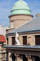 Recovery and renovation of street and court facade and a part of roof of an building in Marticeva street, Zagreb/Croatia