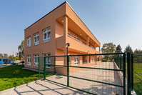Additional construction of an kindergarten, Zagreb/Croatia
