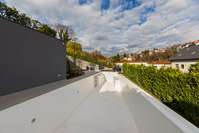 Reconstruction and additional construction of an urban vila with outside pool, Zagreb/Croatia